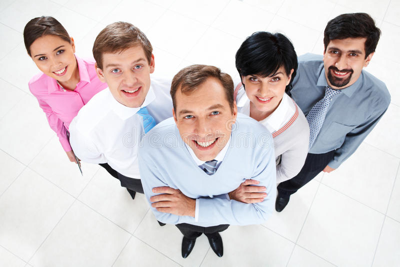 Download Business team stock photo. Image of expression, angle - 12599740