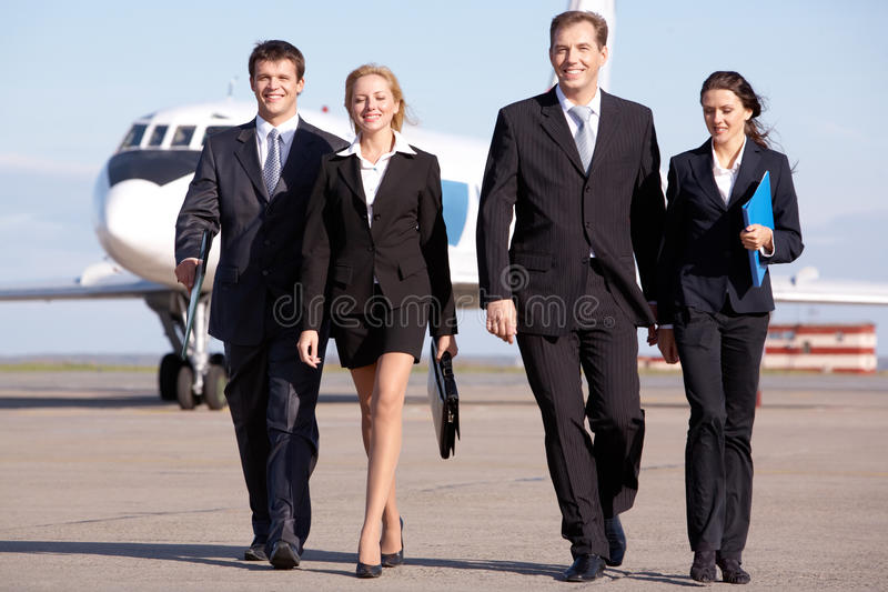 Download Business team stock image. Image of businesspeople, arrival - 14541765