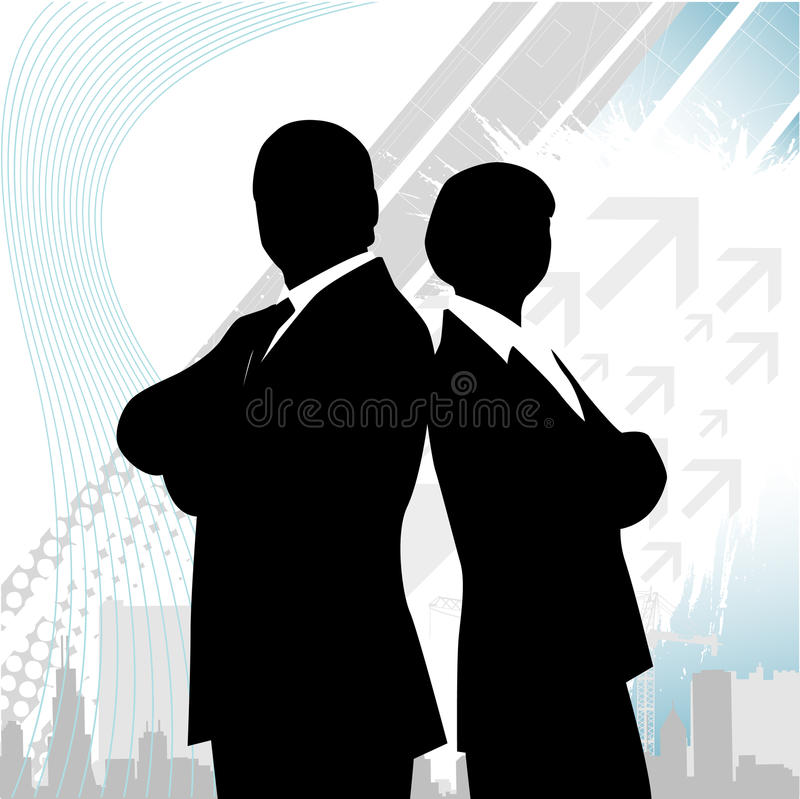 Download Business team stock vector. Image of digitally, illustration - 15911388