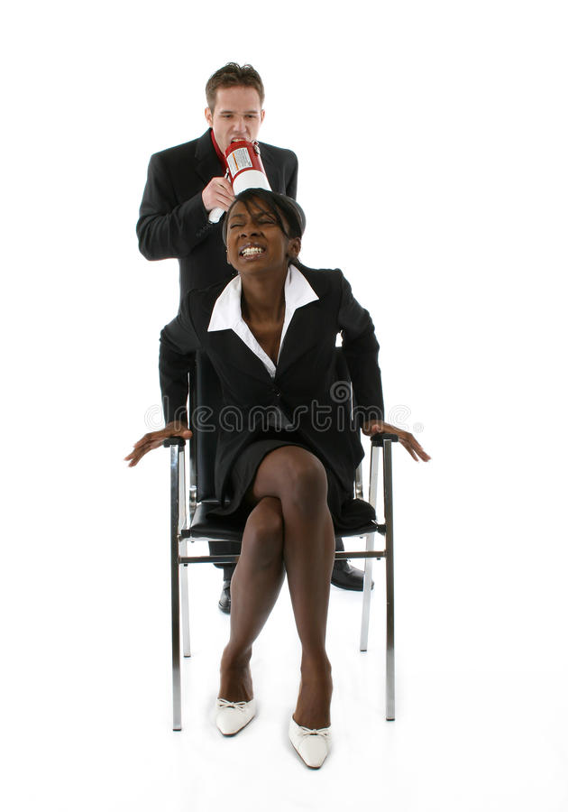 Download Business Team stock image. Image of female, person, horn - 16383009