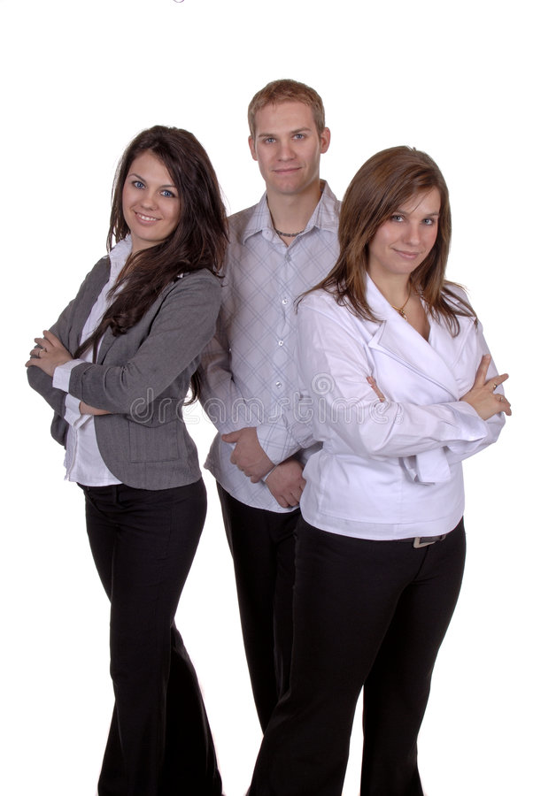 Download Business Team stock photo. Image of male, girls, dark - 1702532