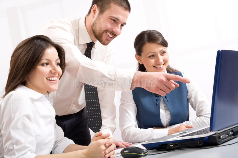 Download Business team stock image. Image of explaining, professional - 18817629