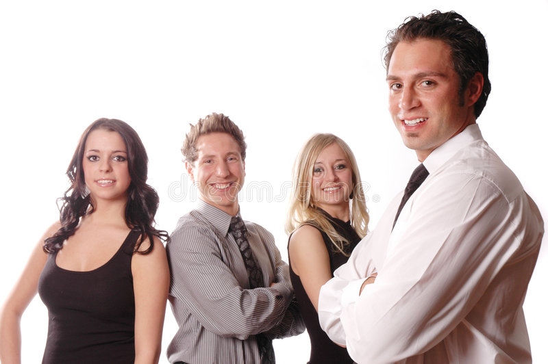A business team stock image