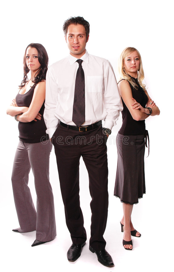 A business team royalty free stock images