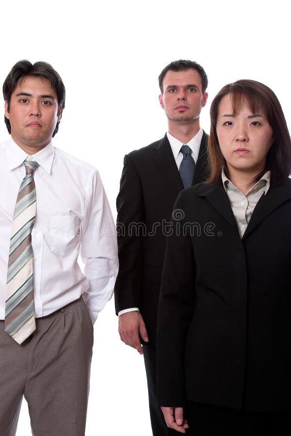Business team 3 royalty free stock image