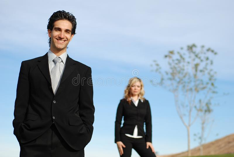 Business team stock image