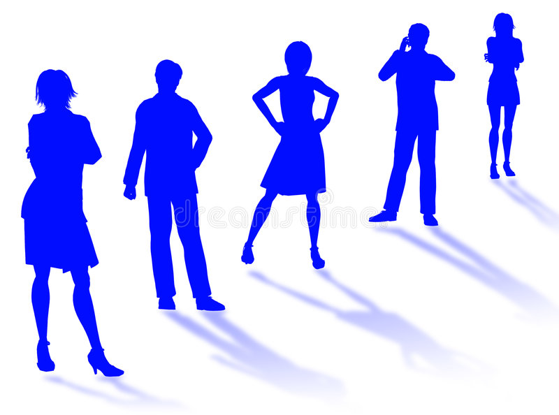 Download Business team stock illustration. Image of group, money - 6024705