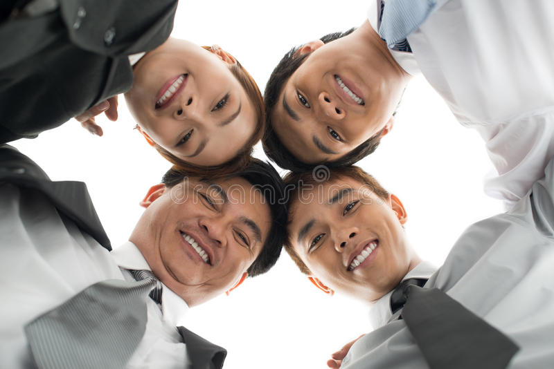 Download Business unity stock photo. Image of glance, asian, cutout - 30095596