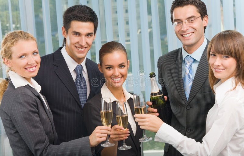 Download Business team celebrating stock photo. Image of event - 6765280