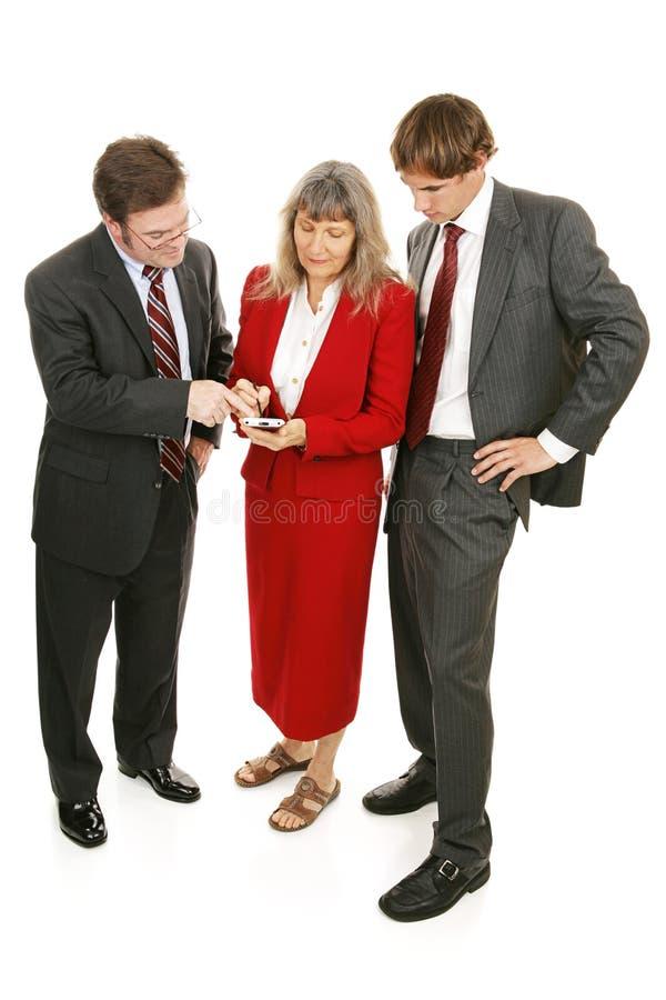 Business Team Checks Market Stock Images
