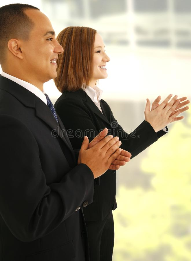 Business Team Clapping Hand royalty free stock photography