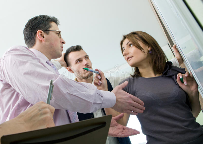 Download Business Team In Discussion Stock Image - Image: 23530975