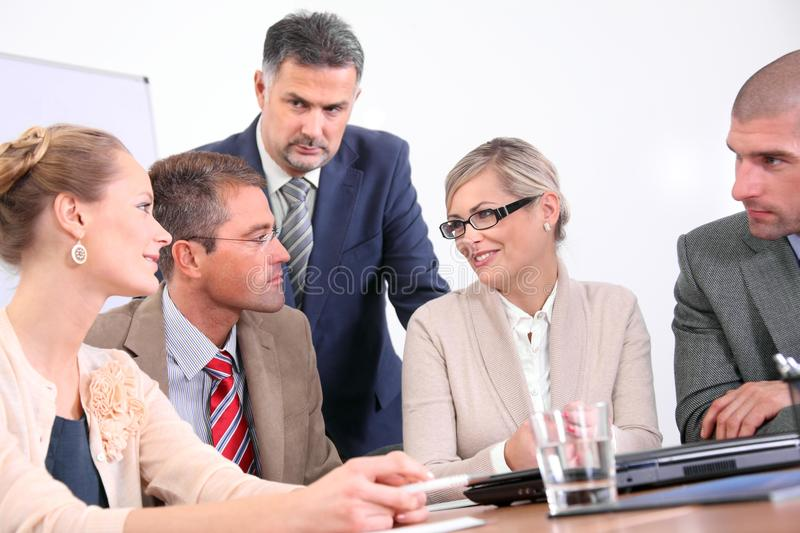 Download Business team - discussion stock photo. Image of presentation - 24121934