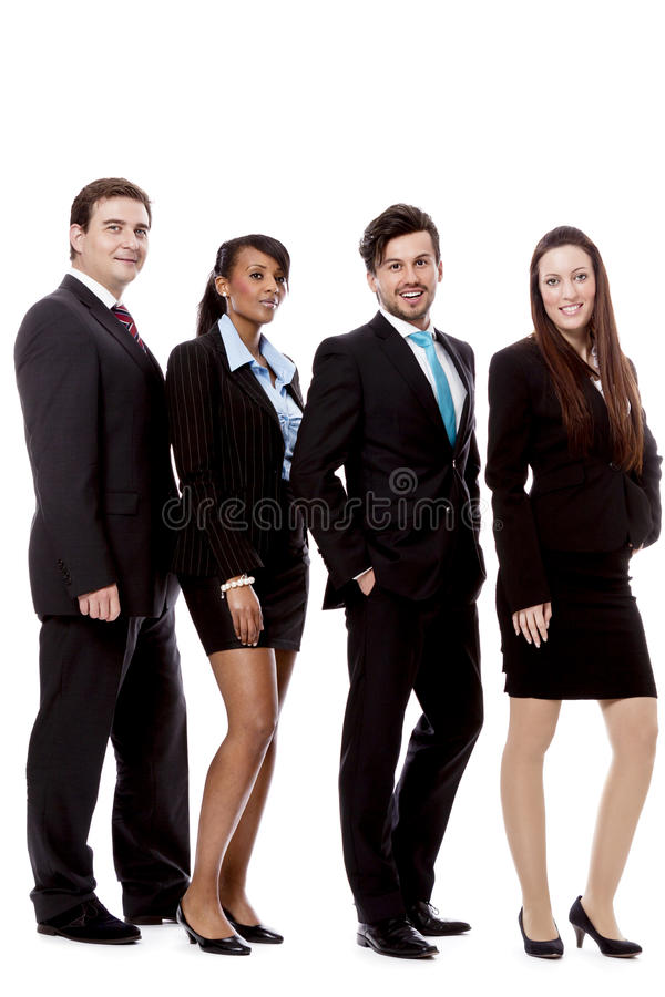 Download Business Team Diversity Happy Isolated Stock Photo - Image: 28150630