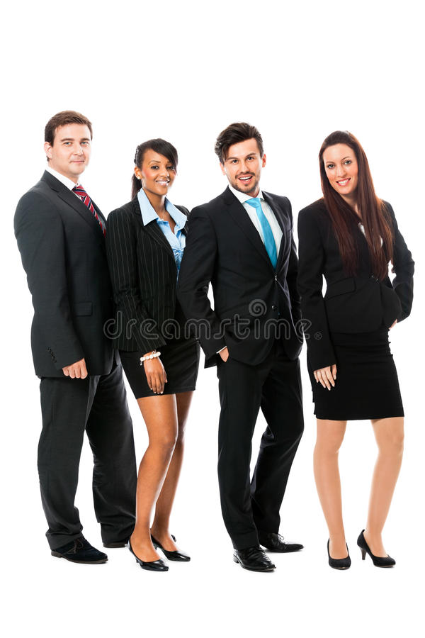 Download Business Team Diversity Happy Isolated Stock Image - Image: 34935235