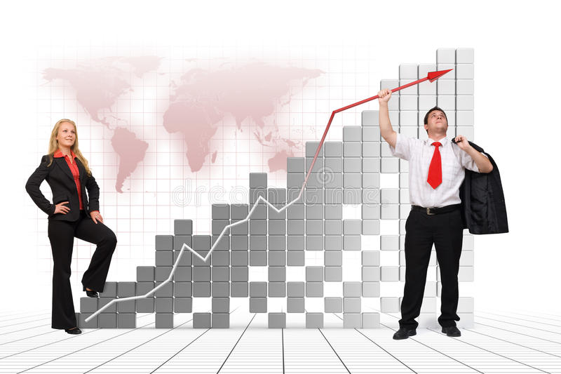 Download Business Team - Financial Growth Royalty Free Stock Photos - Image: 16244578