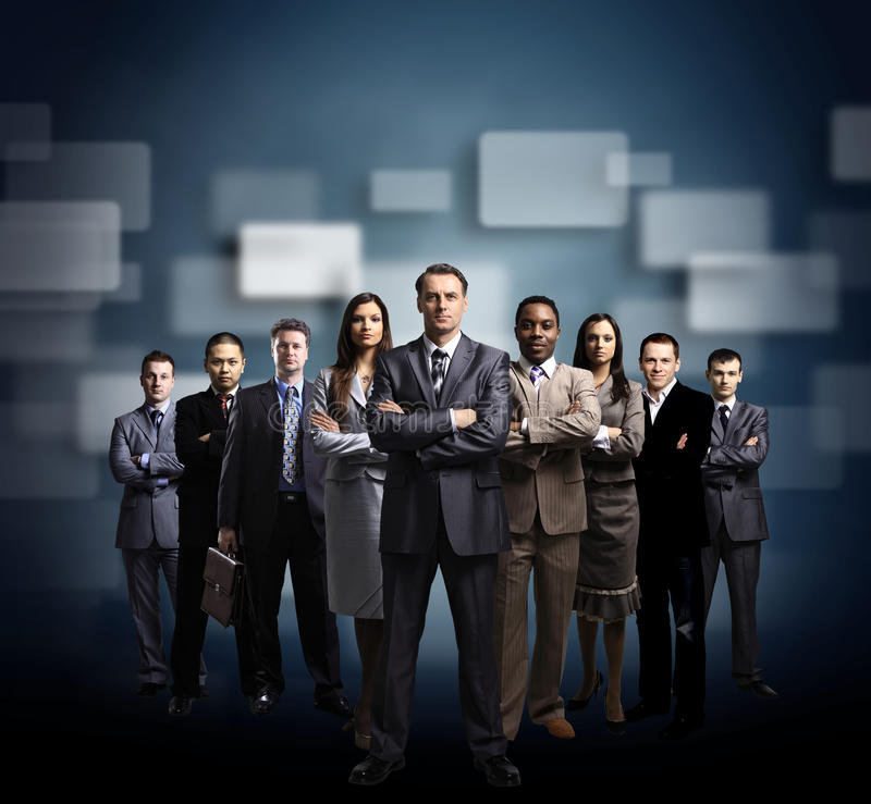Download Business Team Formed Of Young Stock Photos - Image: 21714953