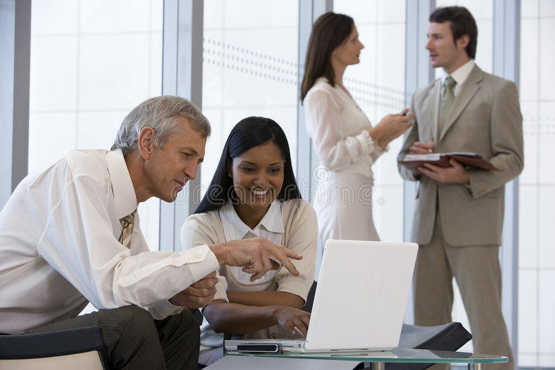 Download Business team of four stock image. Image of businesswoman - 2823043