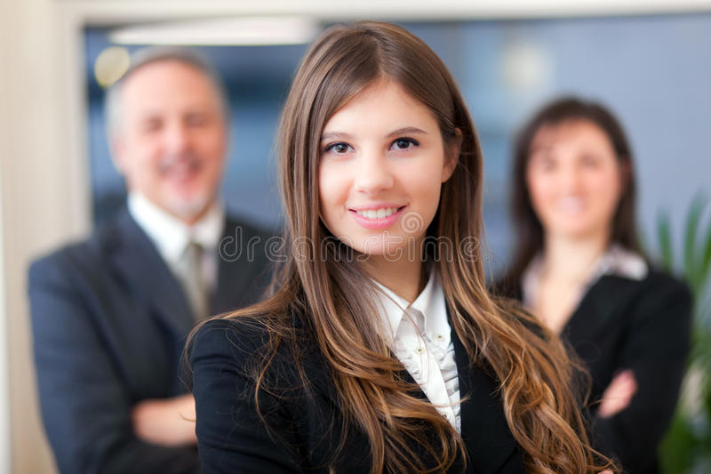 Business team: group of business people royalty free stock photos