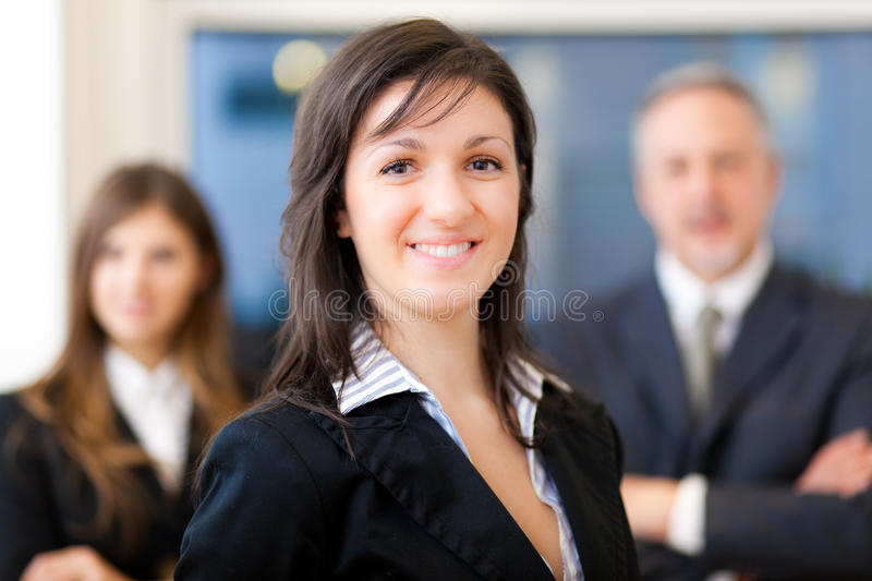 Business team: group of businesspeople royalty free stock photo