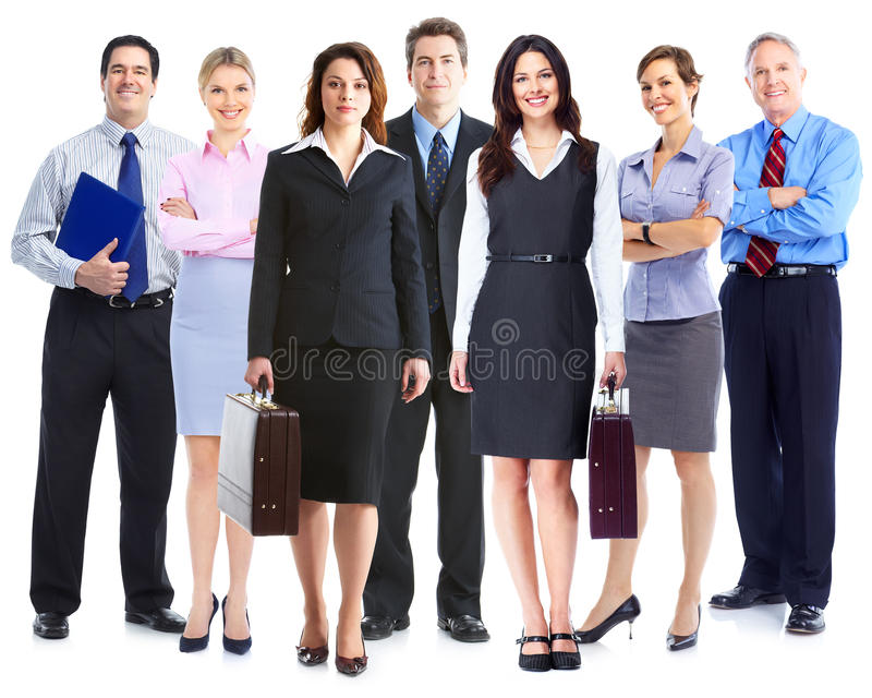 Business team. Group of business people. Business team royalty free stock photo
