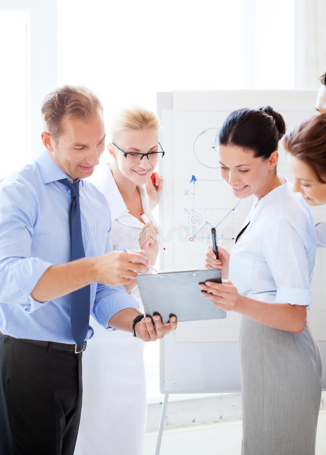 Download Business Team Having Discussion In Office Stock Image - Image: 33079395