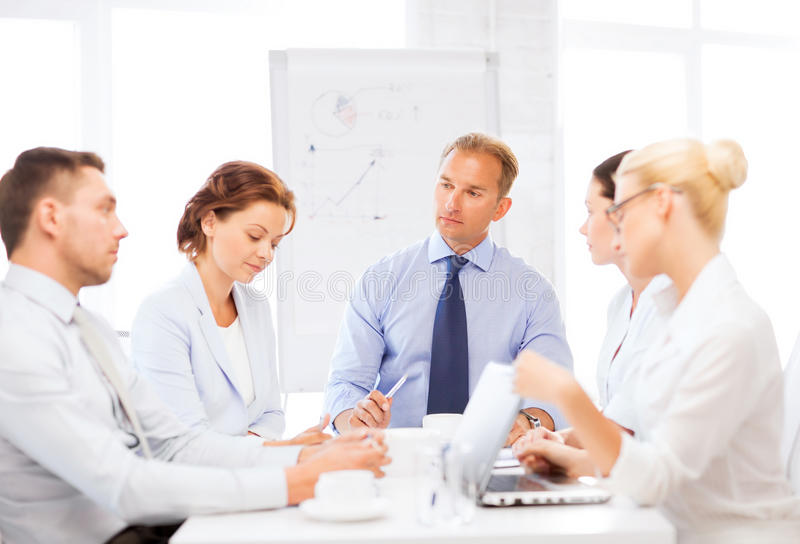 Download Business Team Having Meeting In Office Stock Image - Image: 33080663
