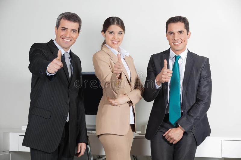 Download Business Team Holding Thumbs Up Stock Photo - Image: 27481848
