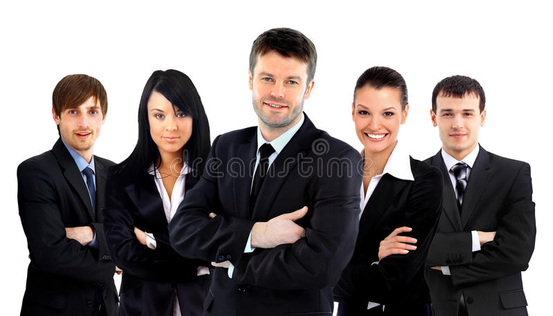 Download Business team isolated stock photo. Image of corporate - 26045006