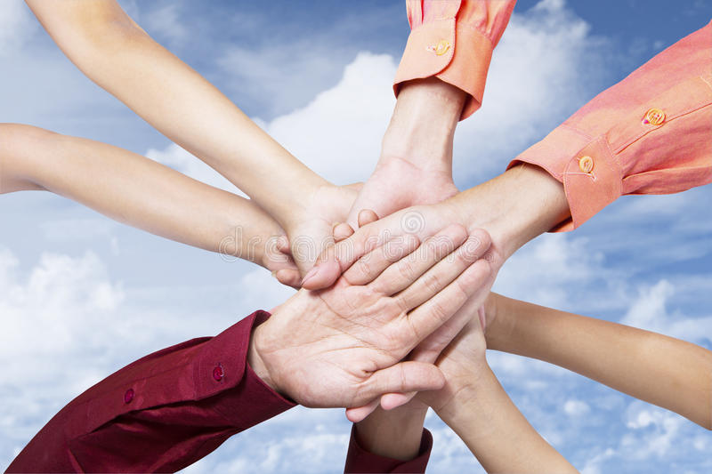 Download Business team join hands stock photo. Image of occupation - 29508826
