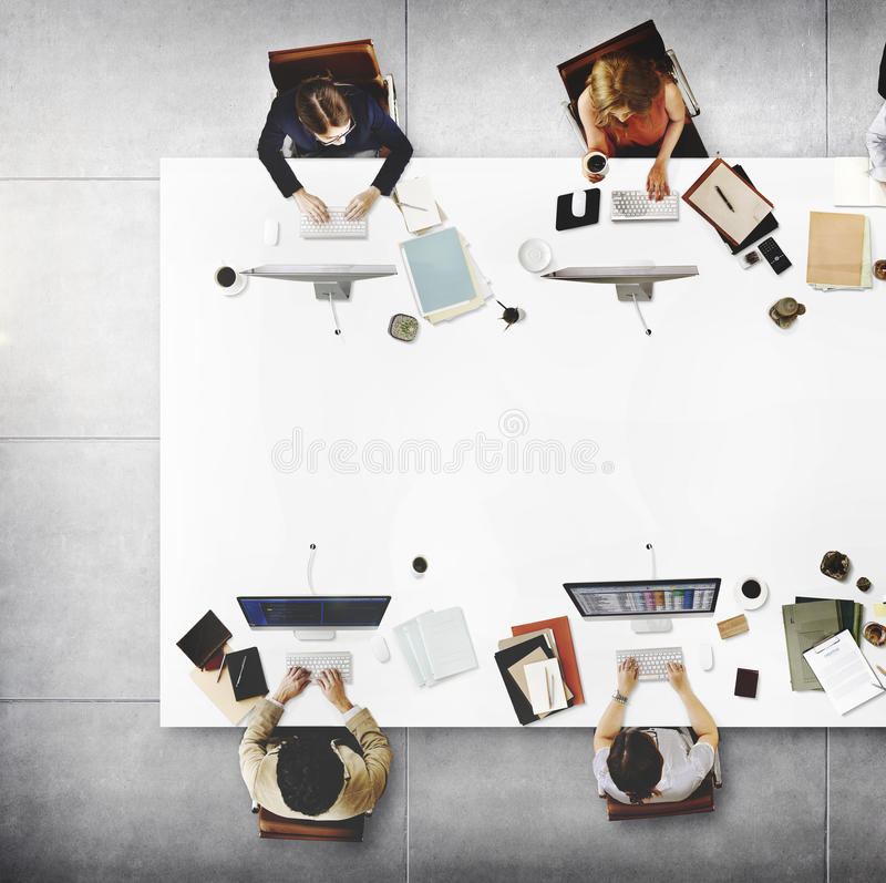 Download Business Team Meeting Connection Digital Technology Concept Stock Image - Image of discussion, descent: 66387339