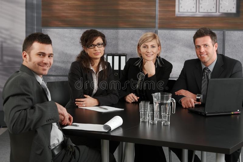 Business team on meeting stock photos