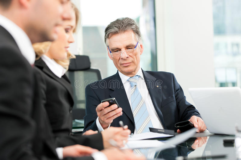 Download Business - Team Meeting In An Office Stock Photo - Image: 24648358