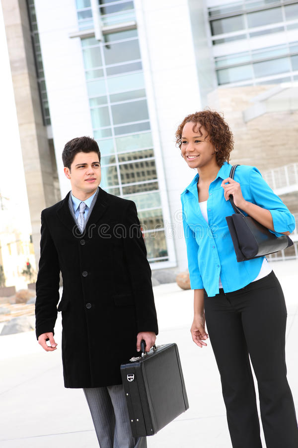Business Team At Office Stock Photos