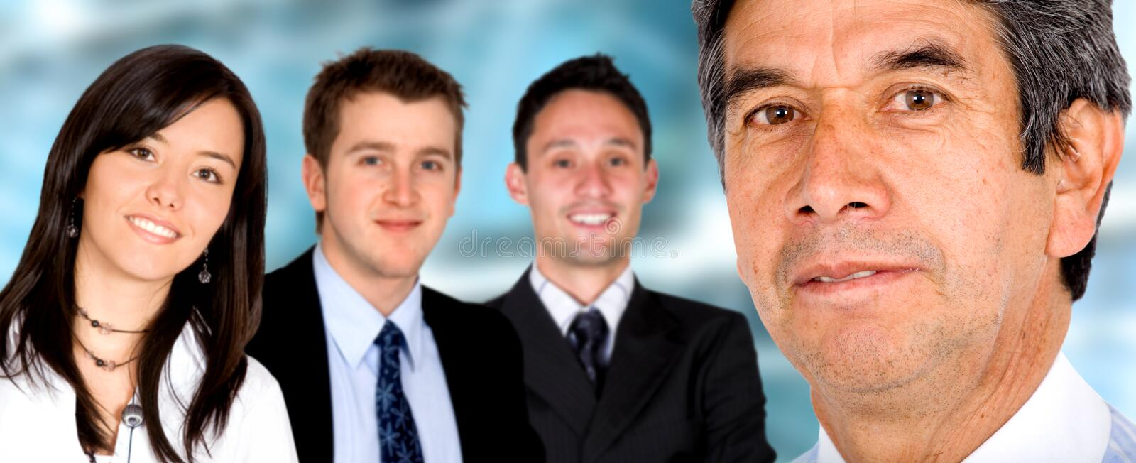 Download Business Team in an office stock image. Image of cooperation - 2557891