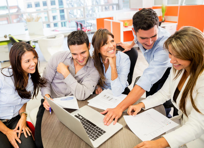 Download Business Team At The Office Stock Photo - Image: 29037160