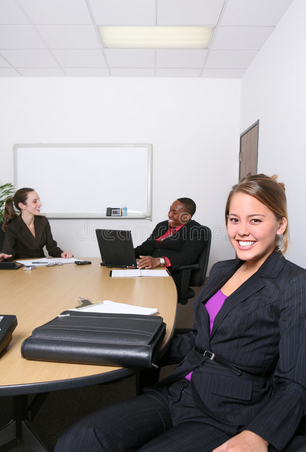 Download Business Team In Office Stock Image - Image: 3554881