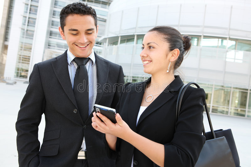 Download Business Team At Office Building Stock Photo - Image: 5539300