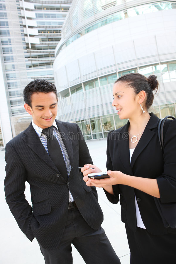 Download Business Team At Office Building Stock Photo - Image: 5554856