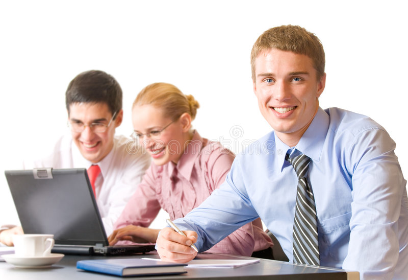 Business team at office, isolated stock images