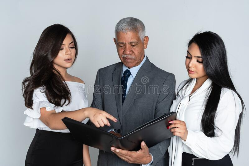 Business Team At The Office Working stock photos