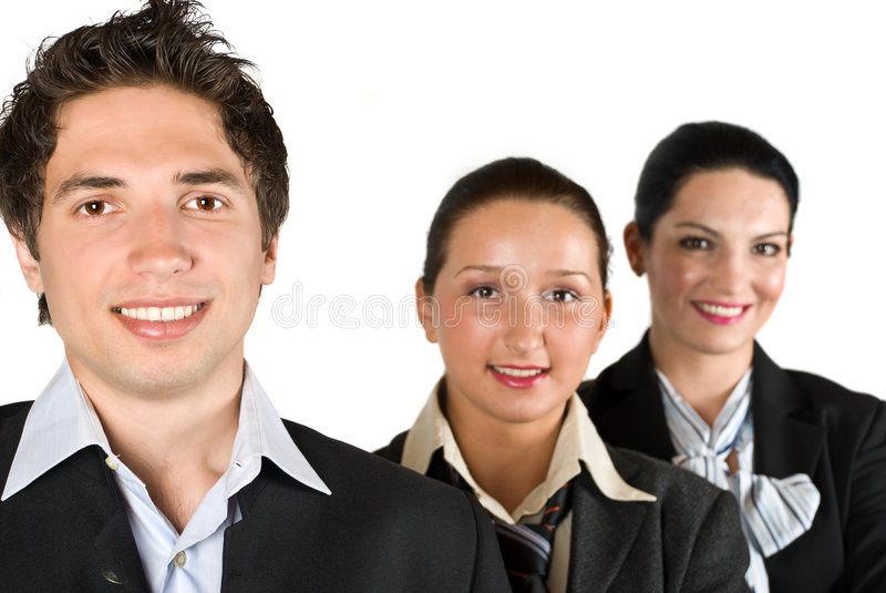 Business team people royalty free stock photography