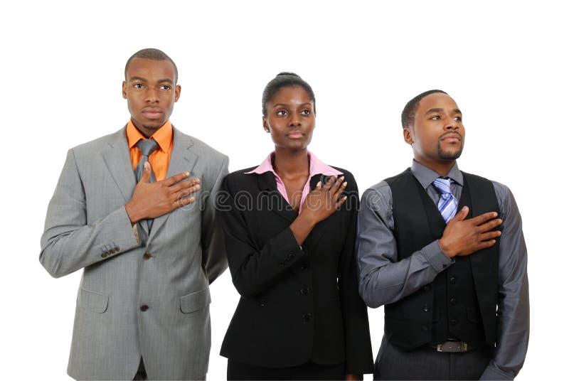 Download Business team pledging stock image. Image of salute, entrepreneur - 12836135
