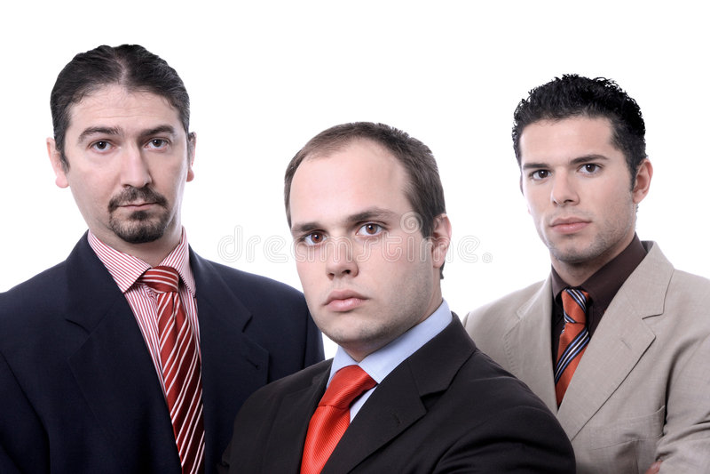 Business team portrait royalty free stock photo