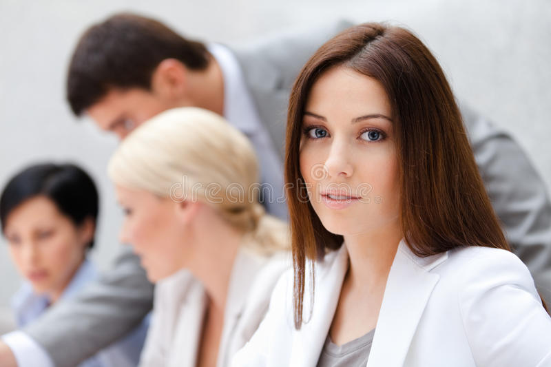 Download Business Team At The Presentation Stock Photo - Image: 26756794