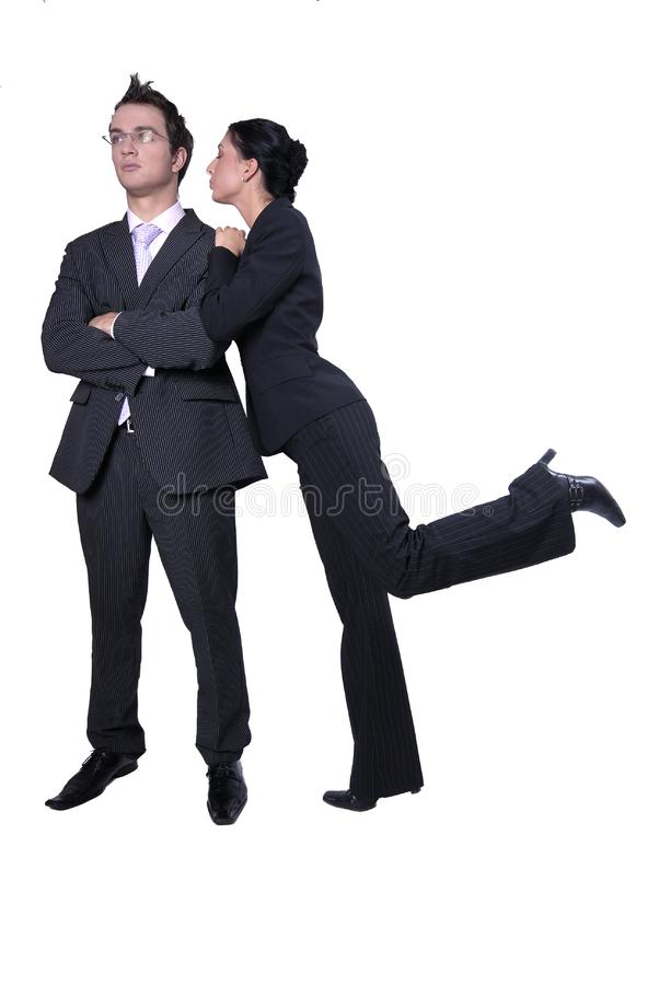 Business team reward royalty free stock photos