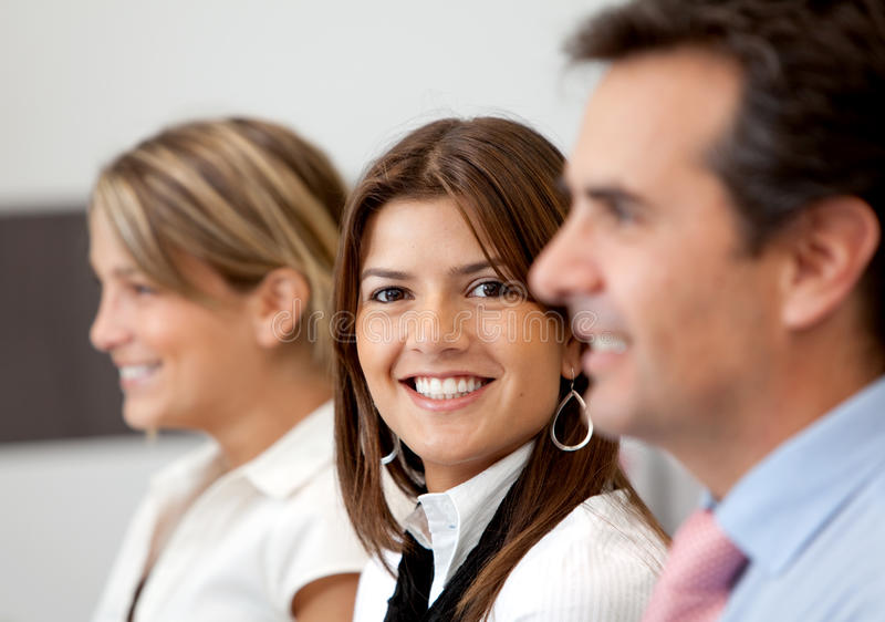 Download Business team smiling stock photo. Image of small, professionals - 13806468