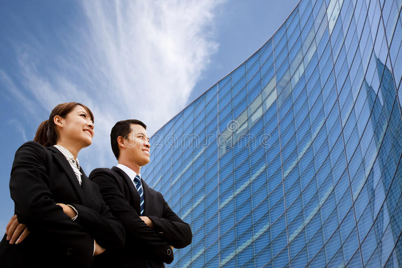 Business team standing together stock photos