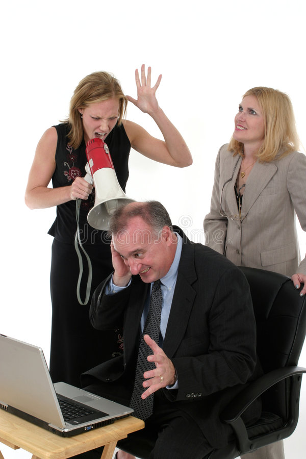 Business Team Under Pressure stock images