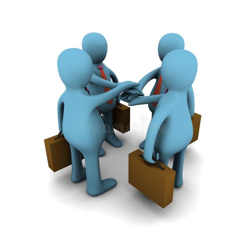 Download Business Team Work, Concept Stock Illustration - Image: 7276821